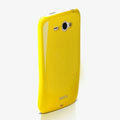 ROCK Colorful Glossy Cases Skin Covers for HTC Chacha G16 A810e - Yellow