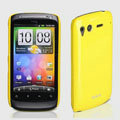 ROCK Colorful Glossy Cases Skin Covers for HTC Desire S G12 S510e - Yellow