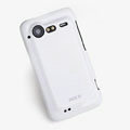 ROCK Colorful Glossy Cases Skin Covers for HTC Incredible S S710E G11 - White