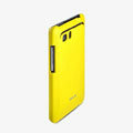 ROCK Colorful Glossy Cases Skin Covers for HTC Raider 4G X710E G19 - Yellow