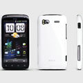 ROCK Colorful Glossy Cases Skin Covers for HTC Sensation 4G Z710e Z715e G14 G18 - White