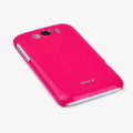 ROCK Colorful Glossy Cases Skin Covers for HTC Sensation XL Runnymede X315e G21 - Red