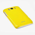 ROCK Colorful Glossy Cases Skin Covers for HTC Sensation XL Runnymede X315e G21 - Yellow