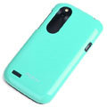ROCK Colorful Glossy Cases Skin Covers for HTC T328W Desire V - Blue