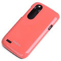 ROCK Colorful Glossy Cases Skin Covers for HTC T328W Desire V - Watermelon