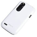 ROCK Colorful Glossy Cases Skin Covers for HTC T328W Desire V - White