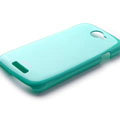 ROCK Colorful Glossy Cases Skin Covers for HTC Ville One S Z520E - Blue