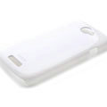 ROCK Colorful Glossy Cases Skin Covers for HTC Ville One S Z520E - White