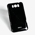 ROCK Colorful Glossy Cases Skin Covers for HTC X310e Titan - Black