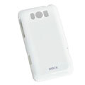 ROCK Colorful Glossy Cases Skin Covers for HTC X310e Titan - White