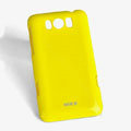 ROCK Colorful Glossy Cases Skin Covers for HTC X310e Titan - Yellow