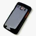ROCK Colorful Glossy Cases Skin Covers for Samsung S5690 Galaxy Xcover - Black