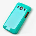 ROCK Colorful Glossy Cases Skin Covers for Samsung S5690 Galaxy Xcover - Blue