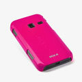 ROCK Colorful Glossy Cases Skin Covers for Samsung S5820 - Red