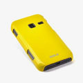 ROCK Colorful Glossy Cases Skin Covers for Samsung S5820 - Yellow