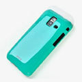 ROCK Colorful Glossy Cases Skin Covers for Samsung S7250 Wave M - Blue