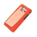 ROCK Colorful Glossy Cases Skin Covers for Samsung S7250 Wave M - Red