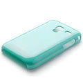 ROCK Colorful Glossy Cases Skin Covers for Samsung S7500 GALAXY Ace Plus - Blue