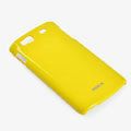 ROCK Colorful Glossy Cases Skin Covers for Samsung S8600 Wave 3 - Yellow