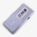 ROCK Magic cube TPU soft Cases Covers for HTC EVO 3D G17 X515M - White