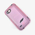 ROCK Magic cube TPU soft Cases Covers for HTC Vigor Rezound ADR6425 - Pink