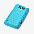 ROCK Magic cube TPU soft Cases Covers for HTC X310e Titan - Blue