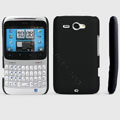 ROCK Naked Shell Hard Cases Covers for HTC Chacha G16 A810e - Black