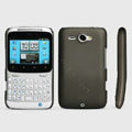 ROCK Naked Shell Hard Cases Covers for HTC Chacha G16 A810e - Gray