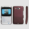 ROCK Naked Shell Hard Cases Covers for HTC Chacha G16 A810e - Red