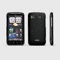 ROCK Naked Shell Hard Cases Covers for HTC Pyramid Sensation 4G G14 Z710e - Black