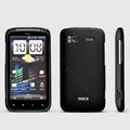 ROCK Naked Shell Hard Cases Covers for HTC Sensation 4G Z710e Z715e G14 G18 - Black