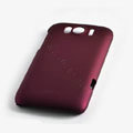 ROCK Naked Shell Hard Cases Covers for HTC Sensation XL Runnymede X315e G21 - Red