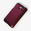 ROCK Naked Shell Hard Cases Covers for Samsung S7250 Wave M - Red