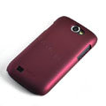 ROCK Naked Shell Hard Cases Covers for Samsung i8150 Galaxy W - Red