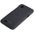 ROCK Quicksand Hard Cases Skin Covers for HTC T328t Desire VT - Black