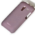 ROCK Quicksand Hard Cases Skin Covers for Samsung S7500 GALAXY Ace Plus- Purple