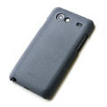 ROCK Quicksand Hard Cases Skin Covers for Samsung i9070 Galaxy S Advance- Gray