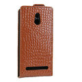 Crocodile pattern Leather Cases Holster Cover For Sony Ericsson LT22i Xperia P - Brown