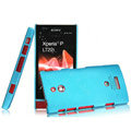 IMAK Ultrathin Matte Color Covers Hard Cases for Sony Ericsson LT22i Xperia P - Blue