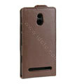Leather Cases Support Holster Cover For Sony Ericsson LT22i Xperia P - Brown