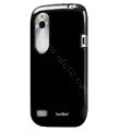 Tourmate Glossy Soft Cases Skin Covers for HTC T328W Desire V - Black