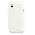 Tourmate Glossy Soft Cases Skin Covers for HTC T328W Desire V - White