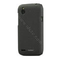 Tourmate Quicksand Hard Cases Skin Covers for HTC T328W Desire V - Black