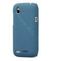 Tourmate Quicksand Hard Cases Skin Covers for HTC T328W Desire V - Blue