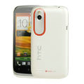 Tourmate Thin Hard Skin Cases Covers for HTC T328W Desire V - White