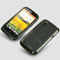 Tourmate Thin Soft Skin Cases Covers for HTC T328W Desire V - Black