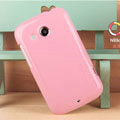 Nillkin Colorful Hard Cases Skin Covers for HTC A320e Desire C - Pink