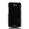 Nillkin Colorful Hard Cases Skin Covers for HTC One S Ville Z520E - Black