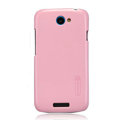 Nillkin Colorful Hard Cases Skin Covers for HTC One S Ville Z520E - Pink