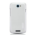 Nillkin Colorful Hard Cases Skin Covers for HTC One S Ville Z520E - White